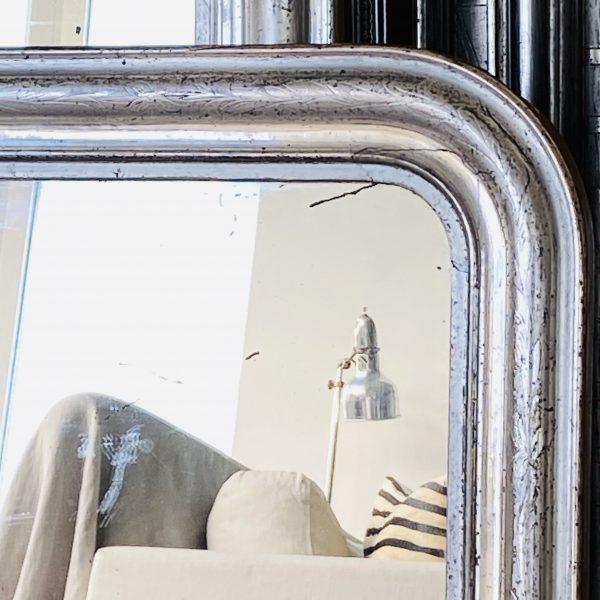 Louis Philippe Sølvspejl - 60 x 48 cm