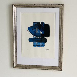 Pierre Soulages - nummereret litografi