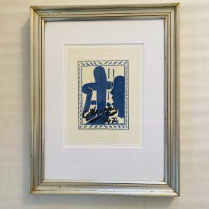 Braque litografi