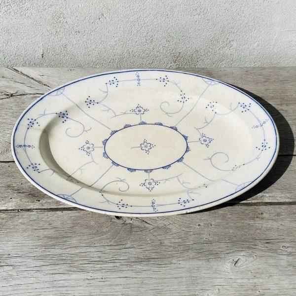 Musselmalet porcelæn fra Villaverte