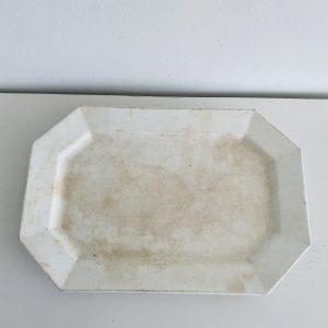 Gammelt hvidt porcelæn fra Villaverte