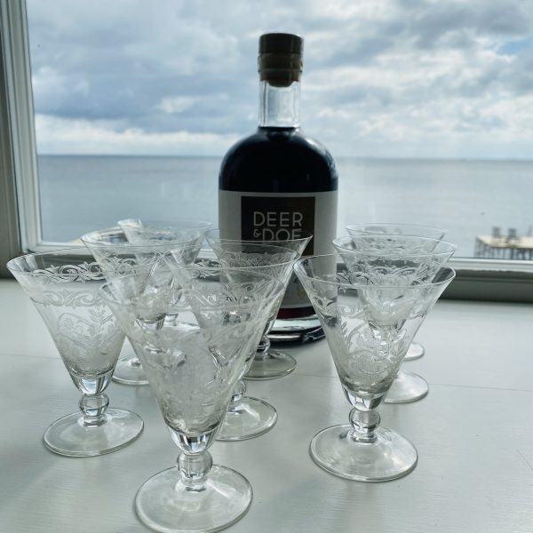 Gamle Franske Glas fra Villaverte