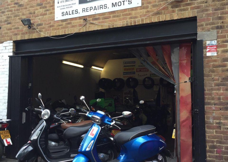 scooter service and MOt in London