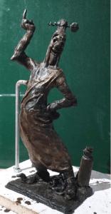 bronzen beeld van Sus Antigoon
