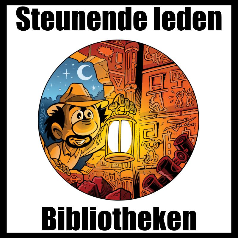 Strippas: Steunende leden / bibliotheken