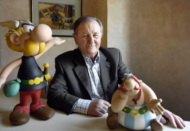 AFP Albert Uderzo in 2007.