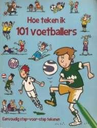 Infotheek Hoe teken ik 101 voetballers 190x250 2