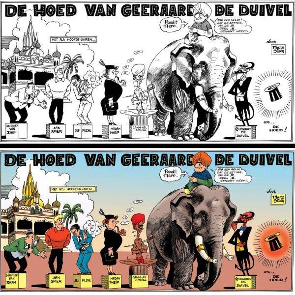 """Serigrafie """"De Hoed van Geeraard de Duivel"""""""