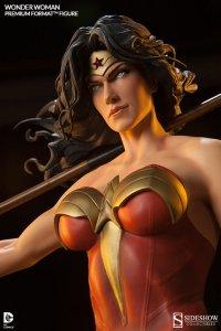 Wonder Woman detail gezicht