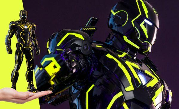 Neon Tech Iron Man 2.0