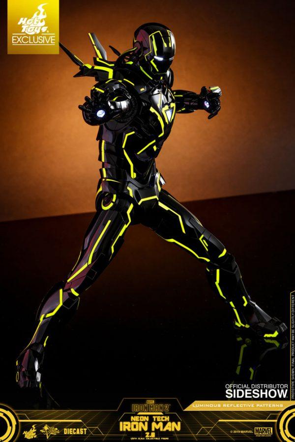 neon tech iron man 20 sixth scale figure marvel gallery 5d0bbd88b9b27