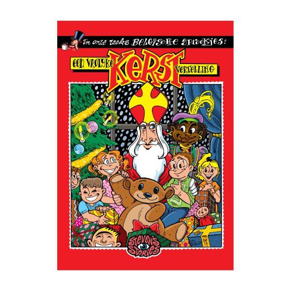 Mini Kerst en Sint verhaal Steven de Rie