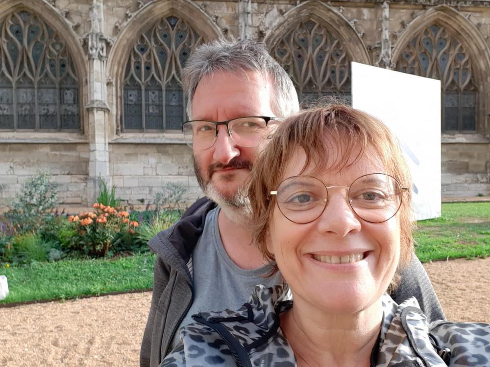 Michèle en Olivier van ABA Academy