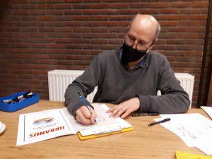 Steven de Rie—Huistekenaar