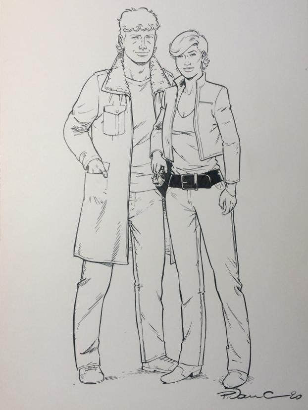 Helden Quinn en Cheyenne