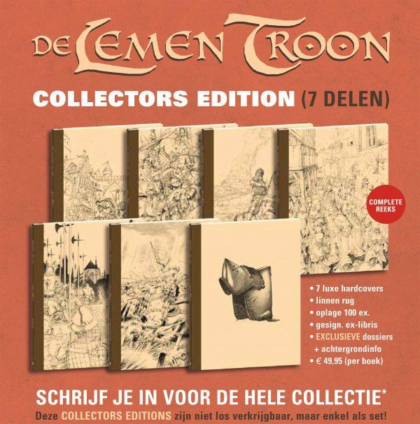 De lemen troon collector edition detail 1