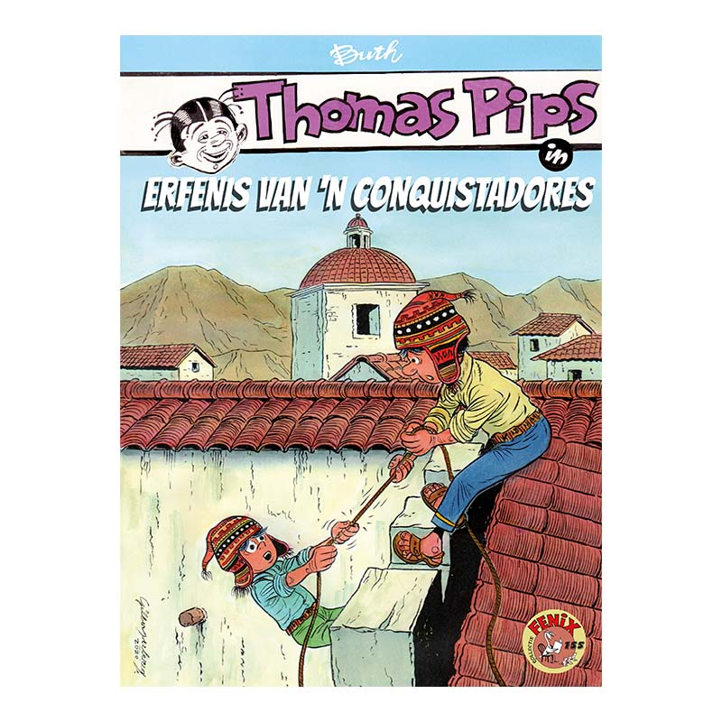 Thomas Pips - Erfenis van 'n conquistadores