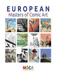 Infotheek European Masters of Comic Art 190x250 1