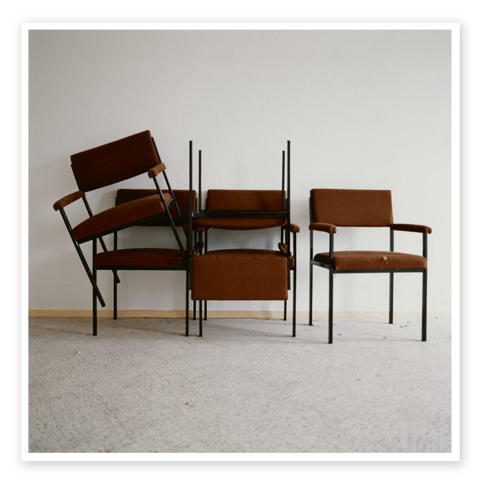 Final Report 07 | Randomly stacked chairs in the hallway