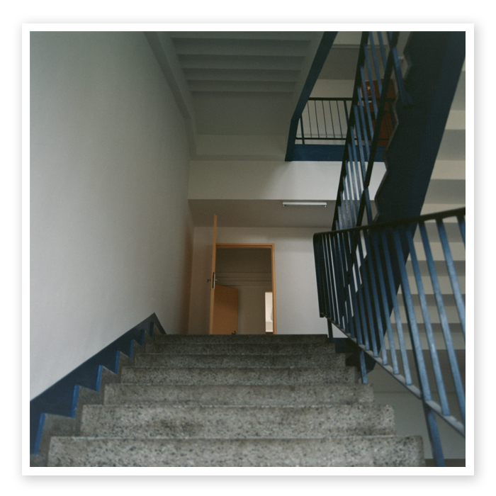 Final Report 10 | Perspective view inside the staircase