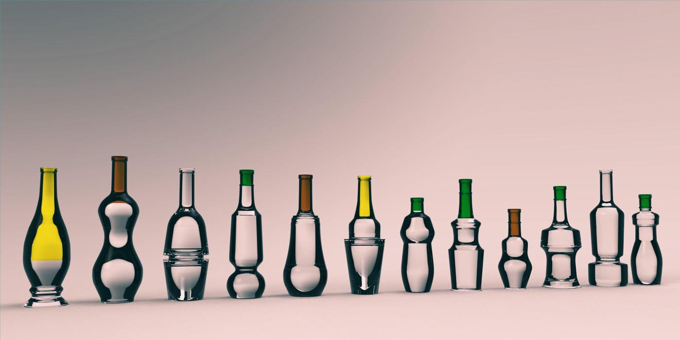 Flaska by WACH designstudio patchwork designs