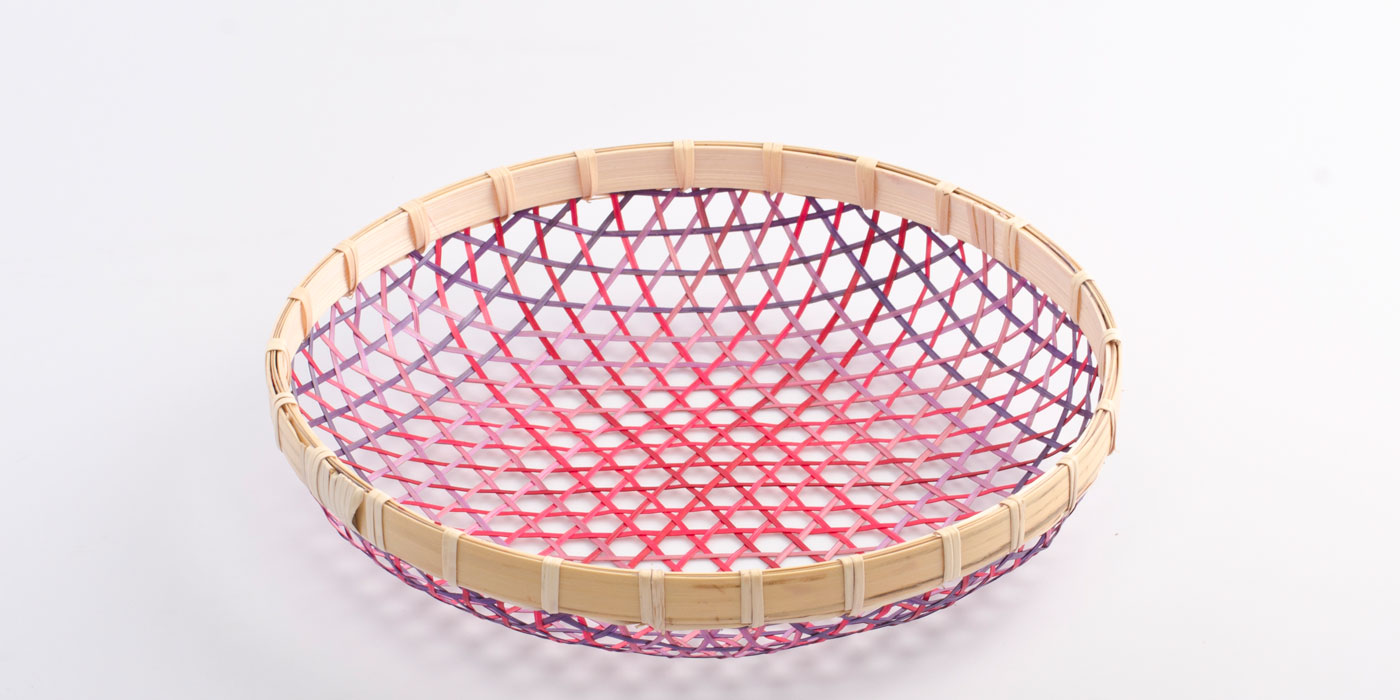 Gradient Basket red