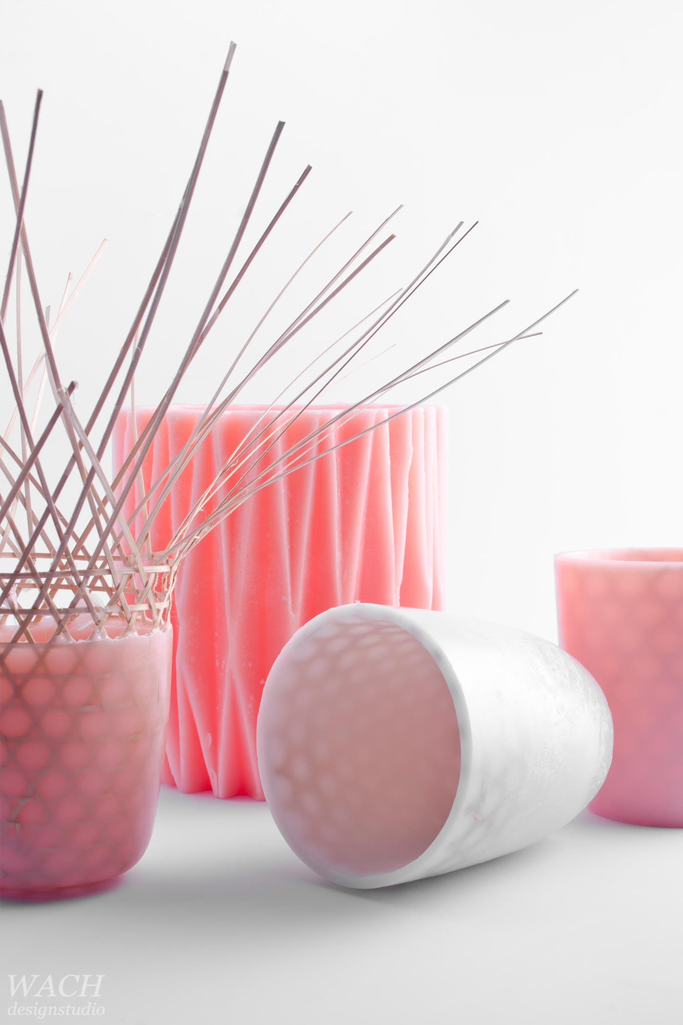 Wax objects designed by Patrik Nilsson for Hanoi Design Centre. Photography by WACH designstudio