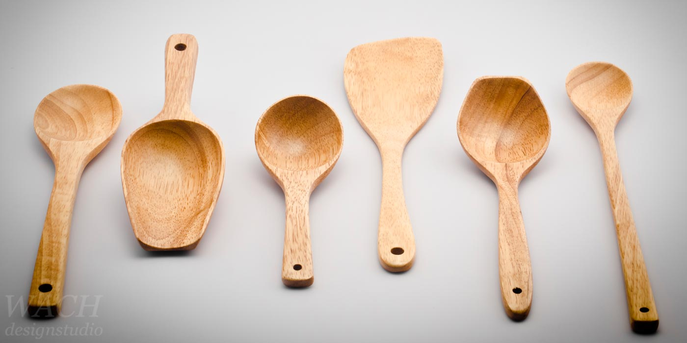 Wooden spoons crafted by experienced vietnamese craftsmen