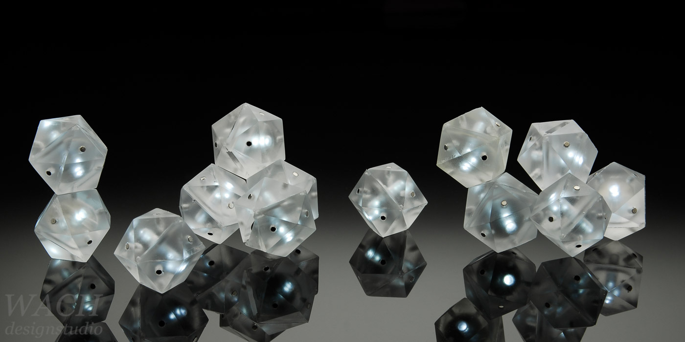 Glowy granules designed by WACH designstudio for BSH-group