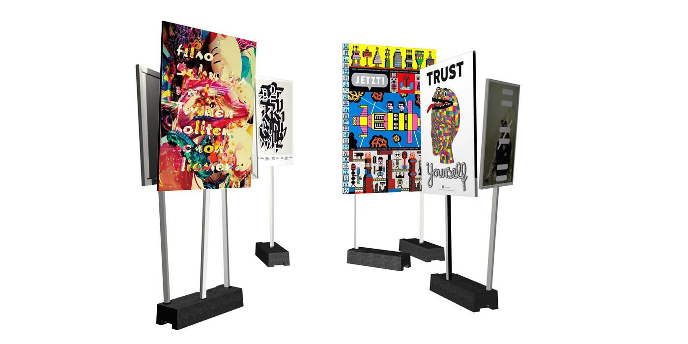 3D Visual of 100 Beste Plakate 2008