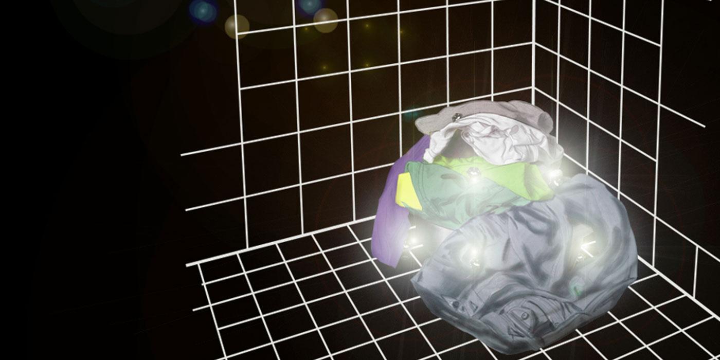 Glowy cleaning scenario