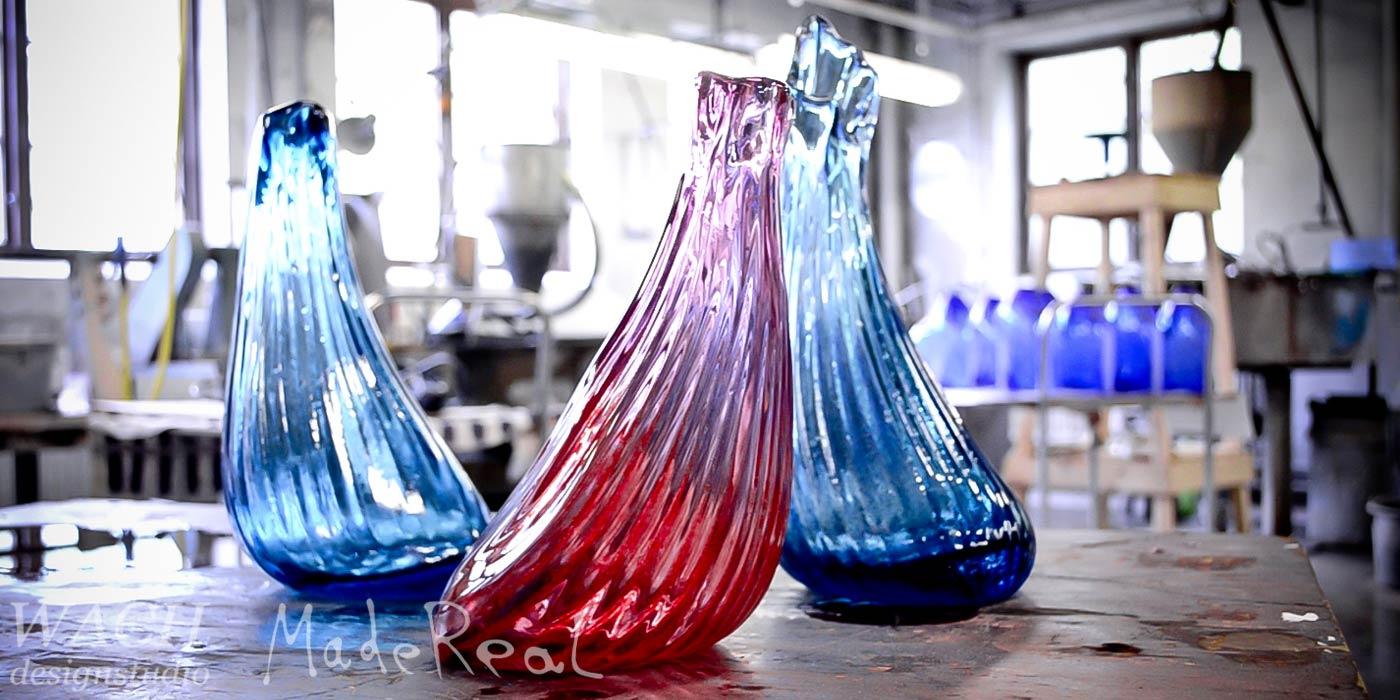 MadeReal Carafe crafted at Bergdala Studioglas