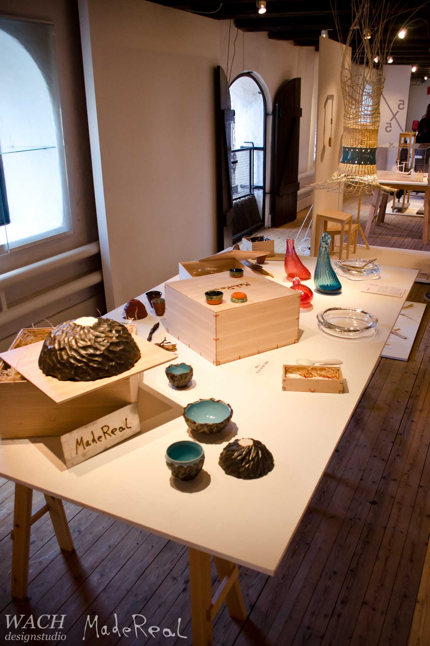 Exhibition of MadeReal items at the Form/Design Center in Malmö Sweden