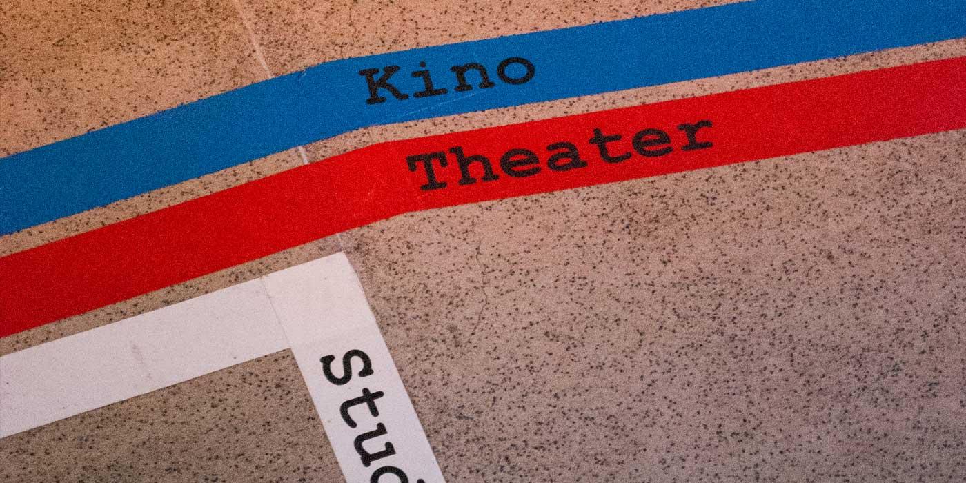 Floor Signage for Brasch-Nacht
