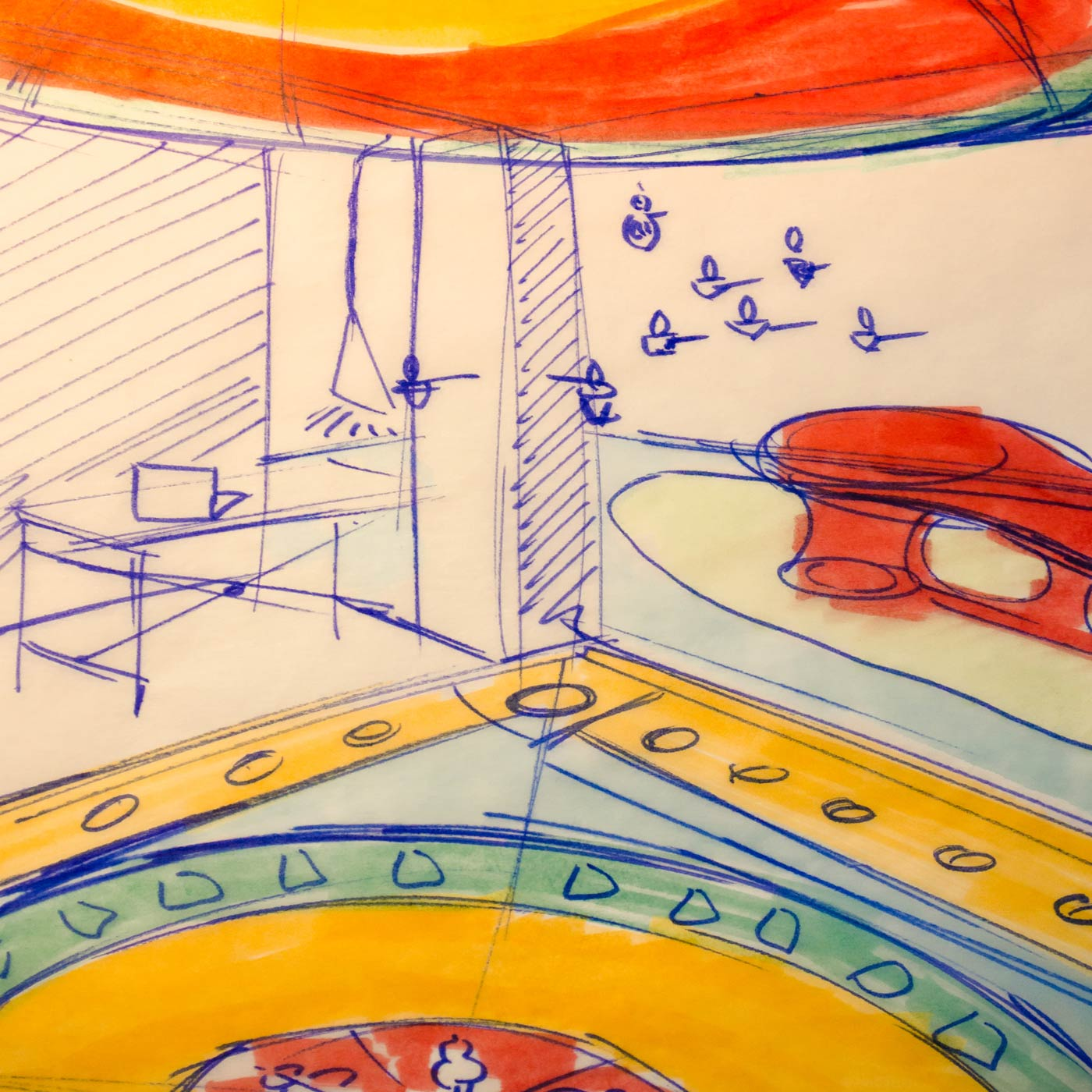 Scenography 02 by WACH designstudio for Alusi Ephemeral Art Atelier in Berlin Kreuzberg