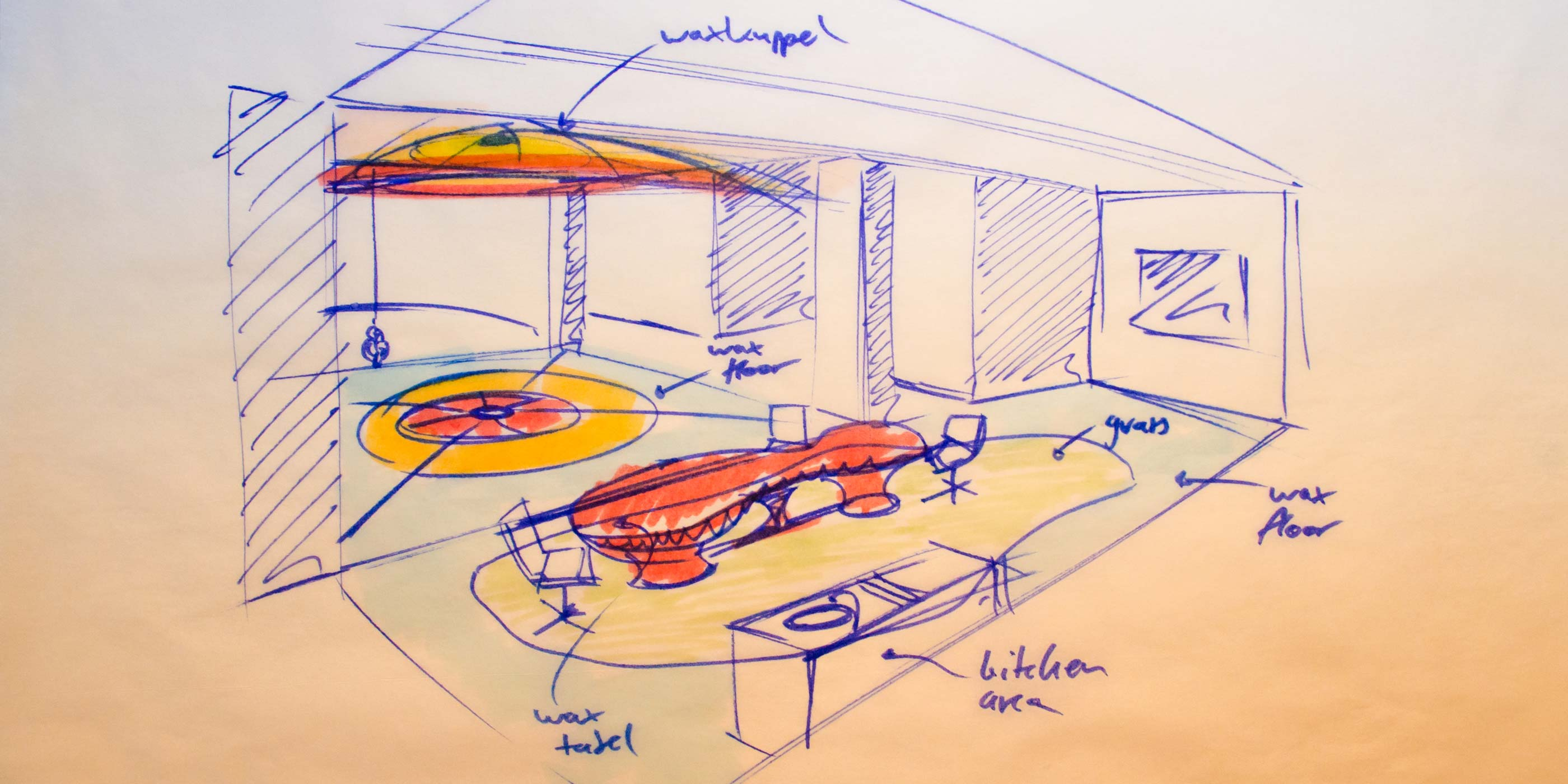 Scenography 01 by WACH designstudio for Alusi Ephemeral Art Atelier in Berlin Kreuzberg