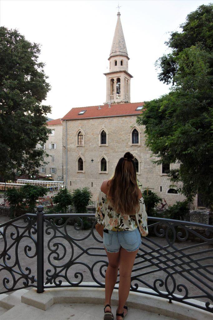 Views old town Budva