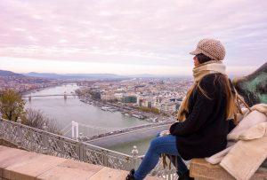 Amazing view of Budapest