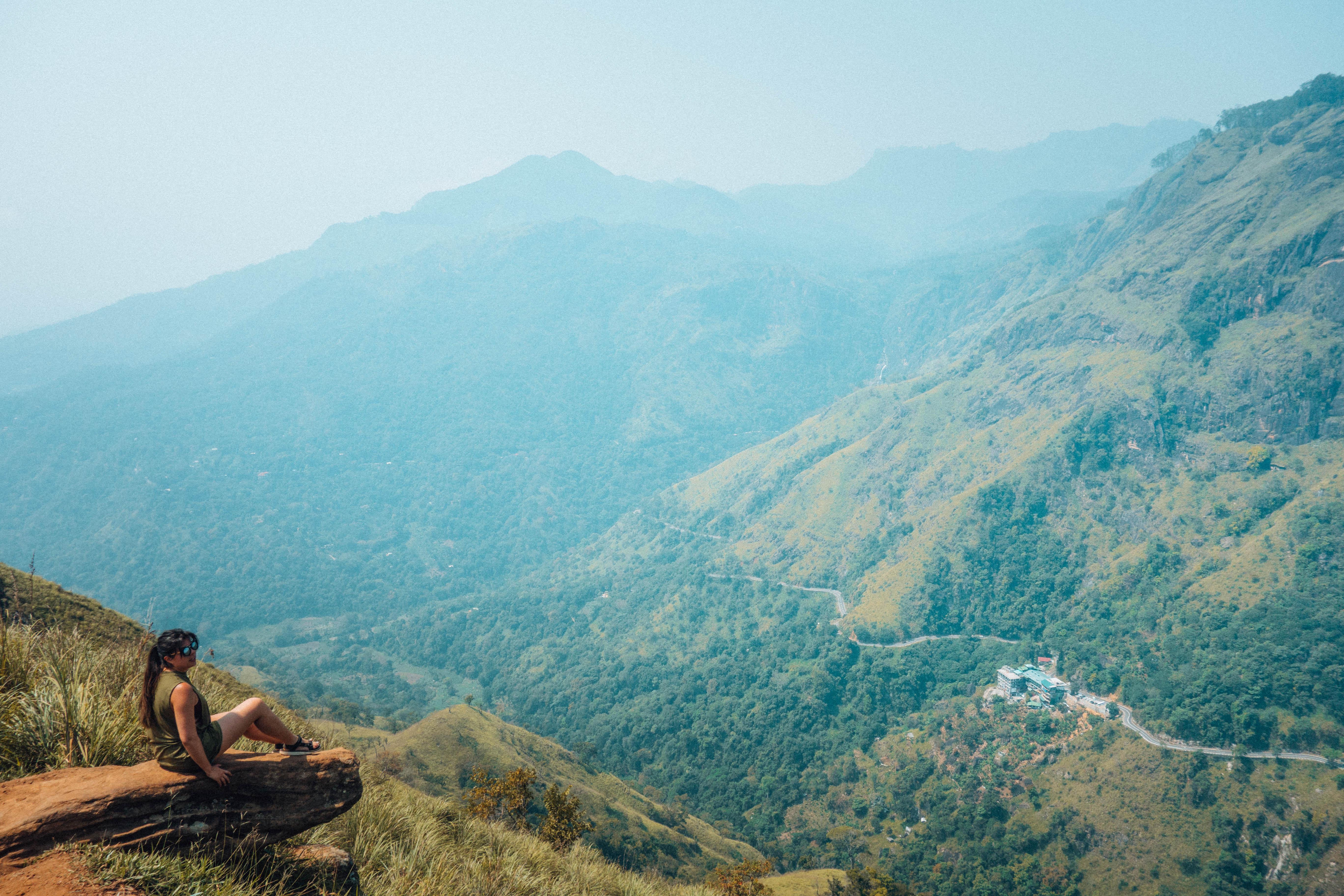 Uitzicht Little Adams Peak