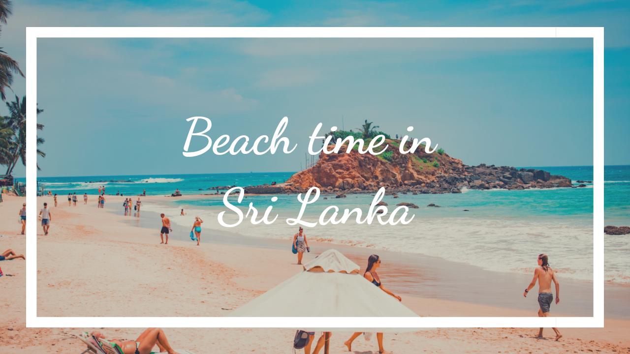 Beach time Sri Lanka