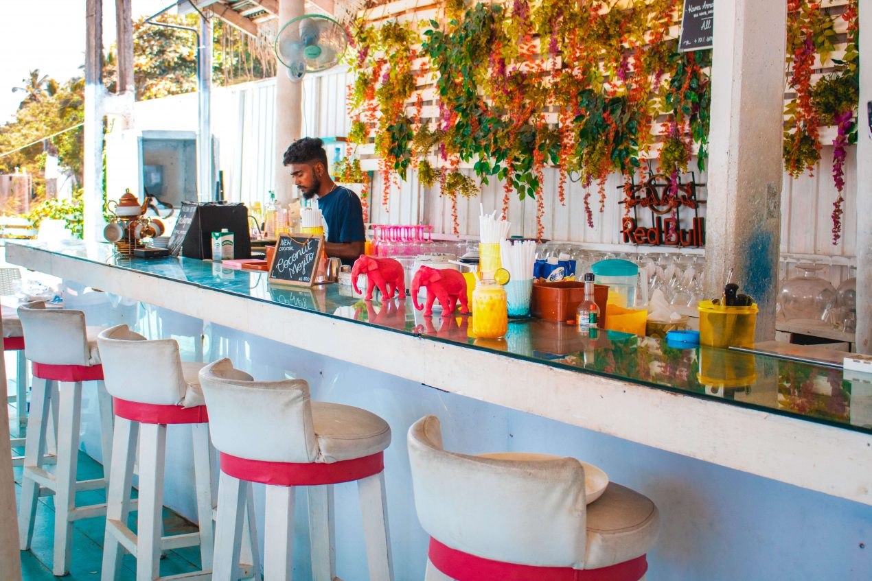 Strand bar Mirissa