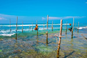 typical fishermen Sri Lanka