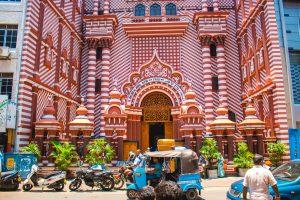 Entrance Jami Ul-Alfar Mosque