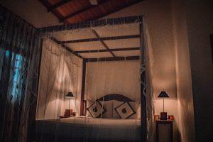 Slaapkamer amal beach hotel