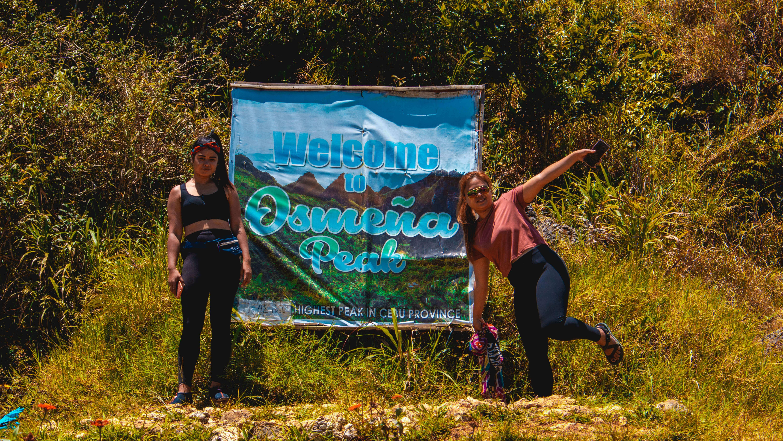 Welcome to Osmena peak