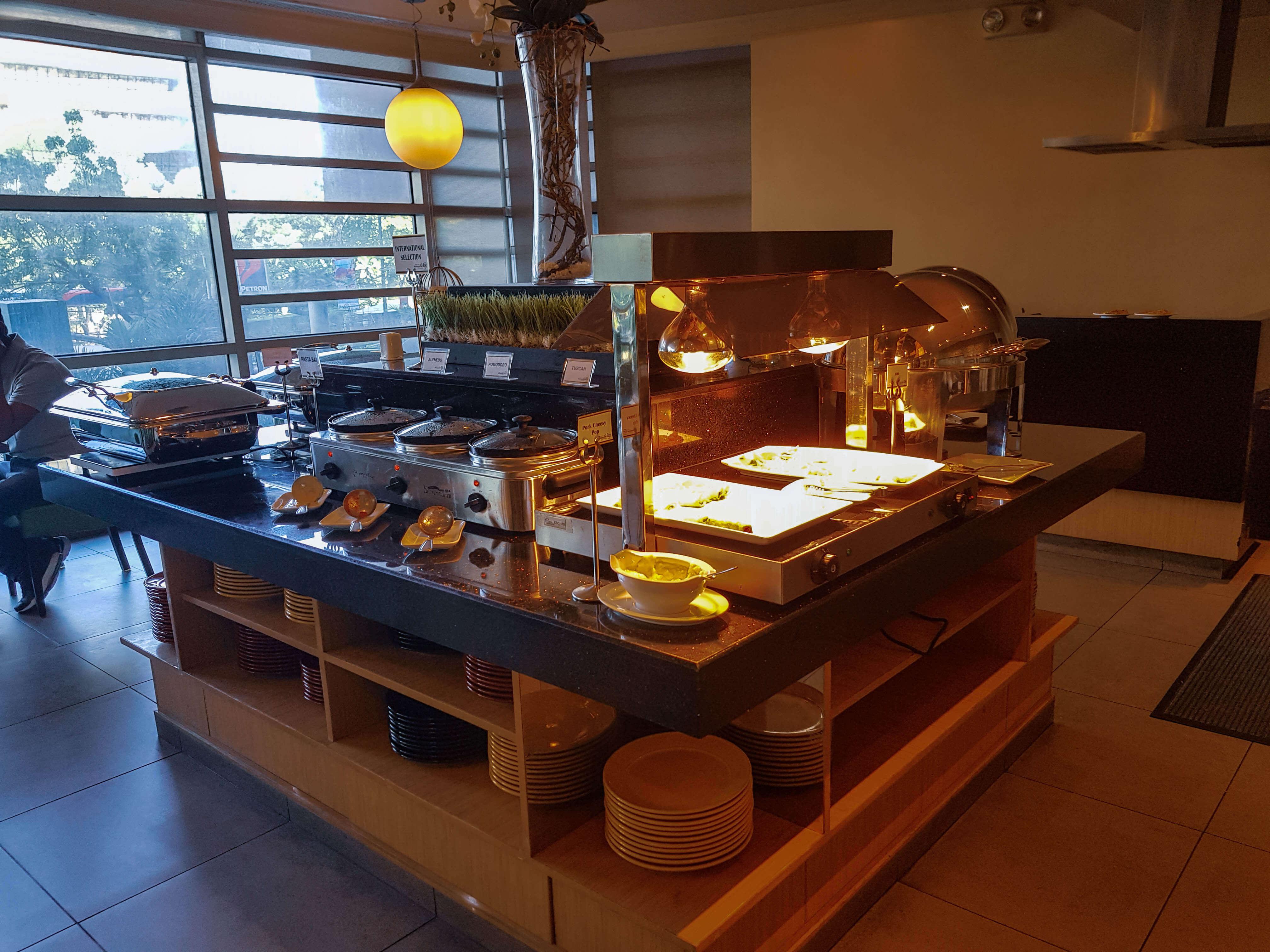 Buffet ruimte Hotel in Metro Manila