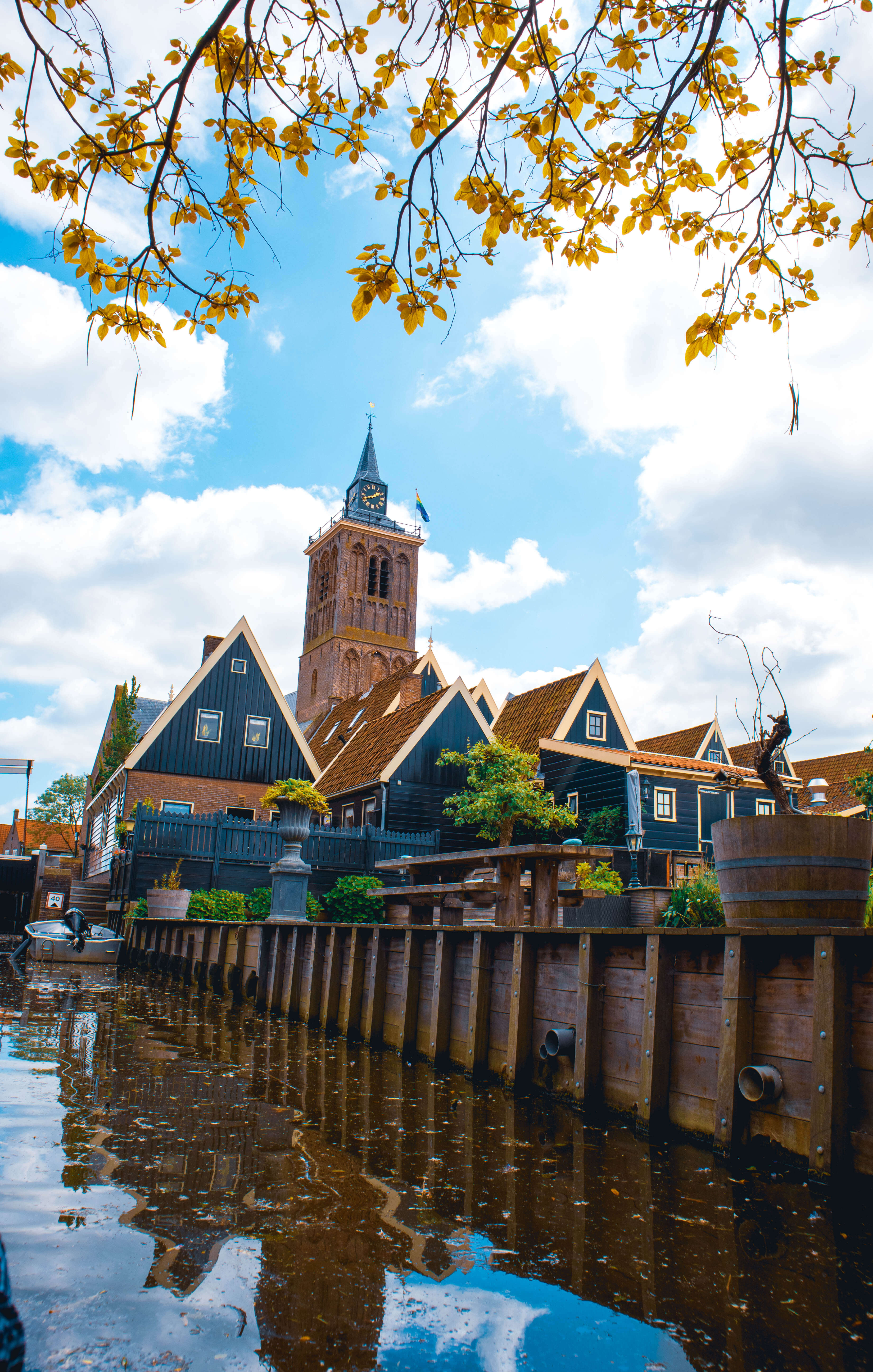 De rijp in Holland