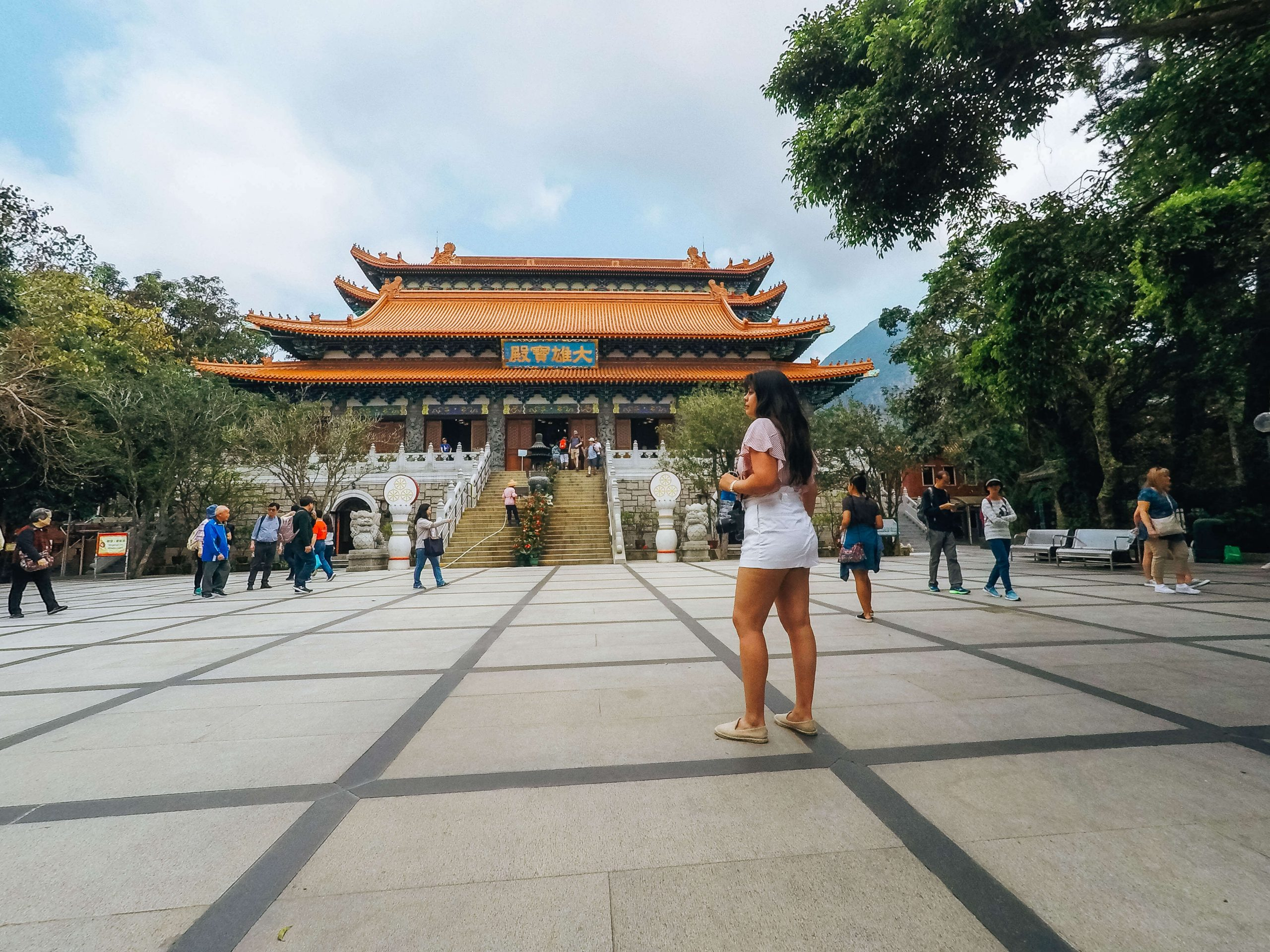 Po-Lin (precious Lotus) Monastery