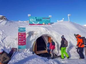 igloo bar les arcs