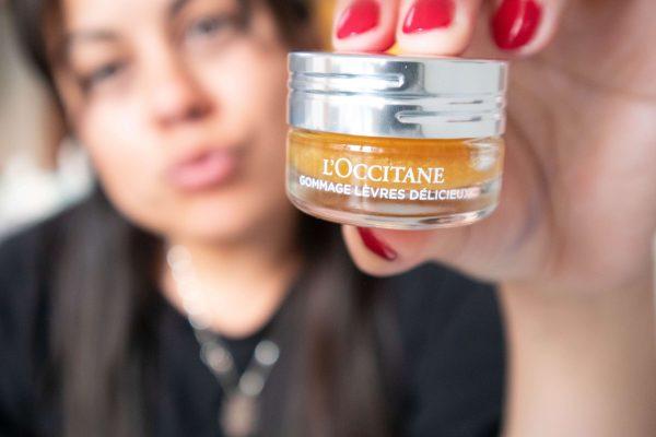L'occitane lip scrub marmalade